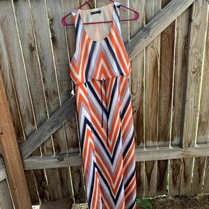 THML Anthropologie sleeveless maxi dress small